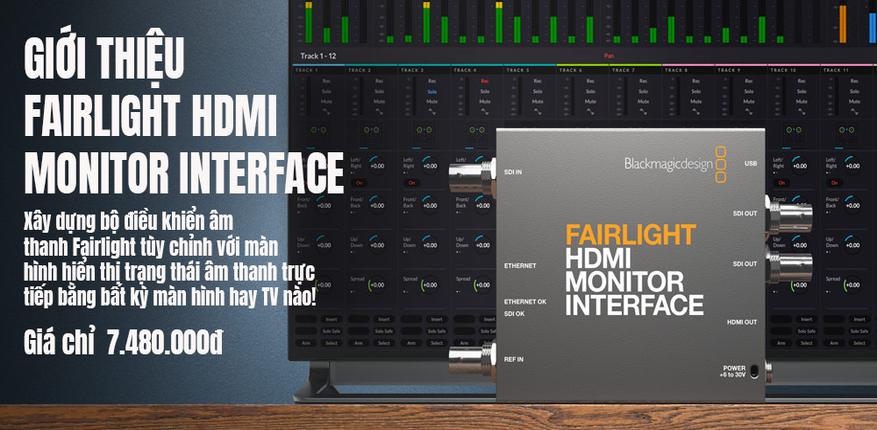 HDMI Monitor Interface