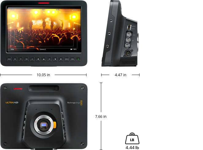 Blackmagic Studio Camera 4K